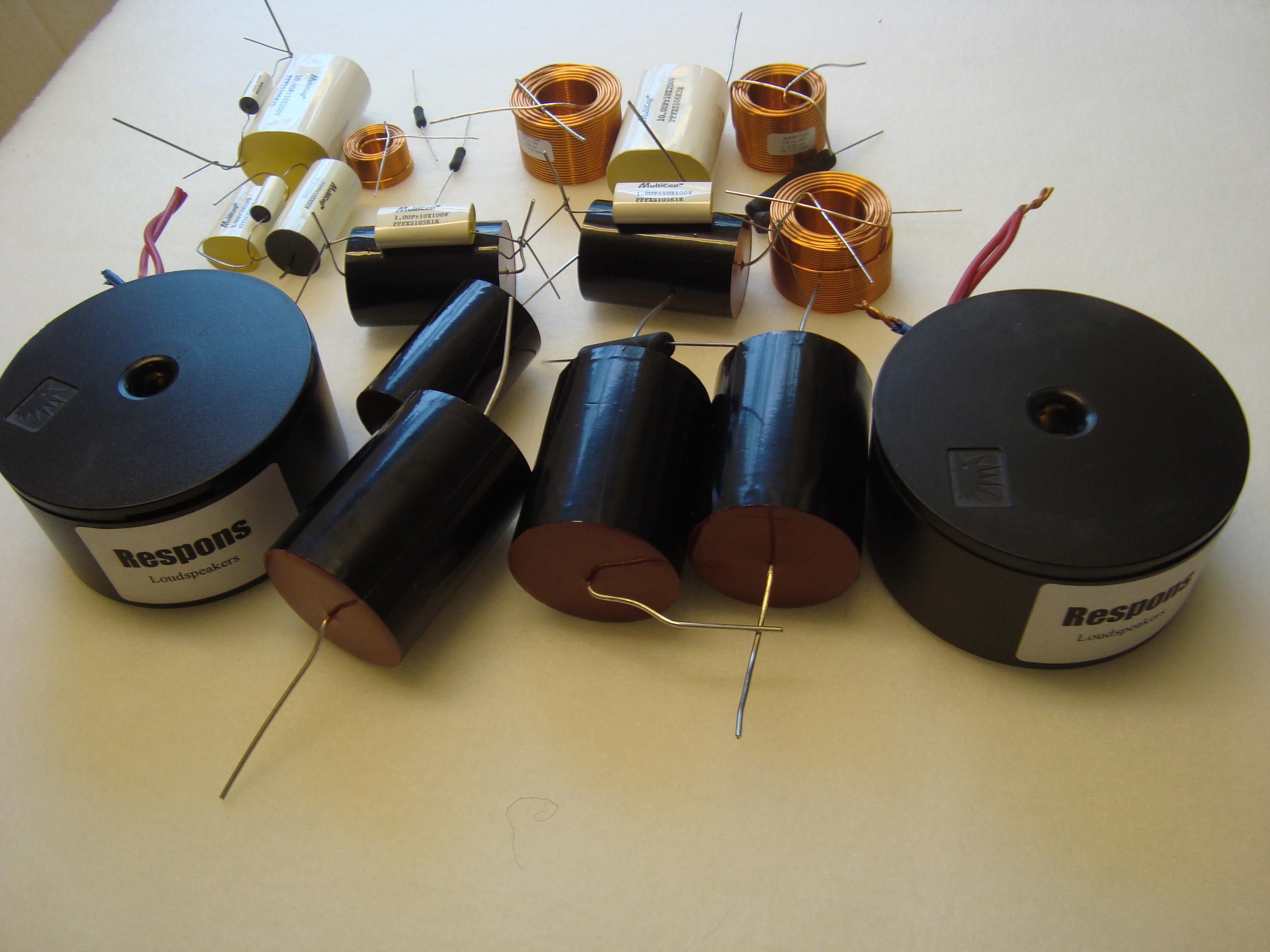 Kvalitets komponenter i delefilter