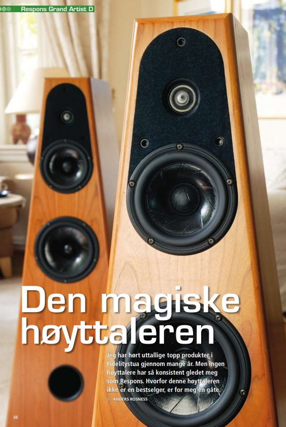 Test Grand Artist Dimension: Den magiske høytaleren