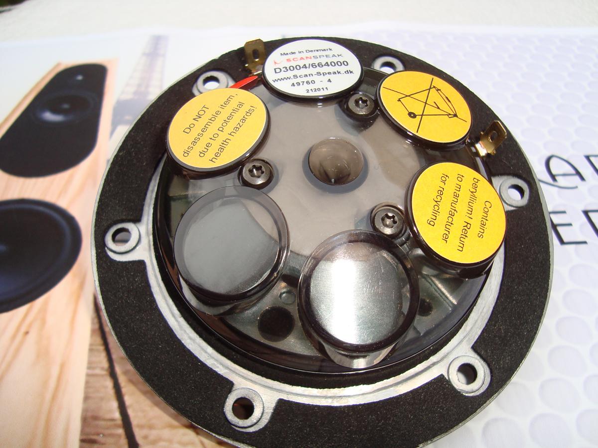 Bakside diskant. 6 stk neodym magneter