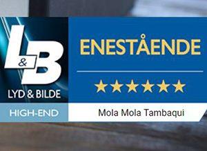 Mola Mola Tambaqui testet i Lyd & bilde