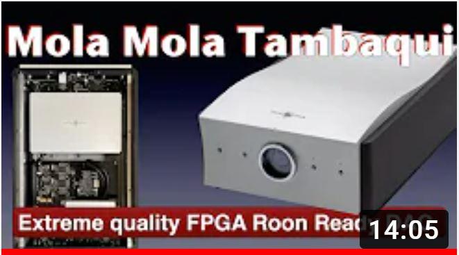 Hans Beekhuyzen test av Mola Mola Tambaqui