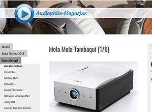 Mola Mola Tambaqui testet i franske Audiophile Magazine. Konklusjonen taler for seg...